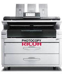 Máy photocopy A0 RICOH MP W7100SP nhập khẩu từ MỸ, giá rẻ, mới 95%