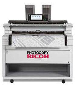 Máy photocopy khổ lớn A0 RICOH MP W6700SP sử dụng tốt cho kiến trúc, công trình xây dụng