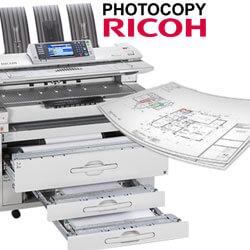 Thuê máy photocopy khổ lớn A0 RICOH MP W 6700 tại sao không? giá thuê rẻ