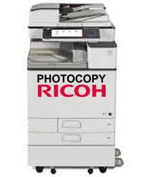 Máy photocopy RICOH màu nhiều tính năng hiện đại photo màu, in màu scan màu