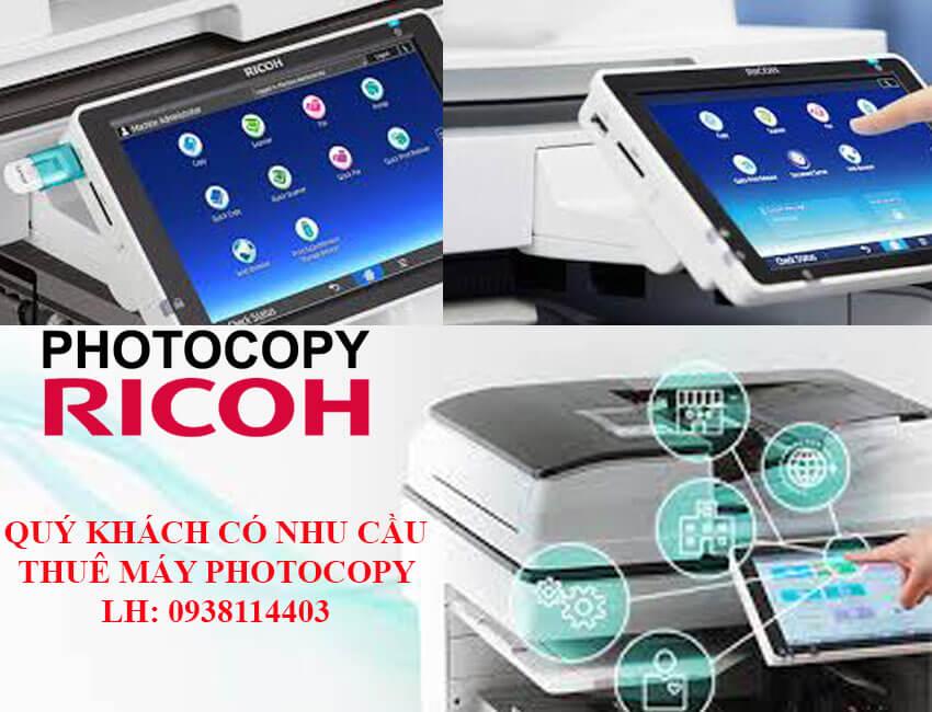 Thuê máy photocopy giá rẻ tại TPHCM nhiều tính năng hiện đại.