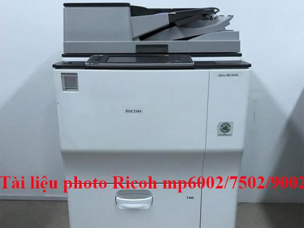 Bảng mã lỗi máy photo Ricoh mp 6002/7502/9002